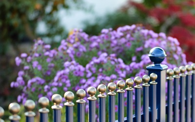 LONDON railing fence