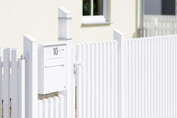 Gartenmobel Rattan Nachbildung : Witterungsbeständige Zäune aus Aluminium — ZAUNZAR