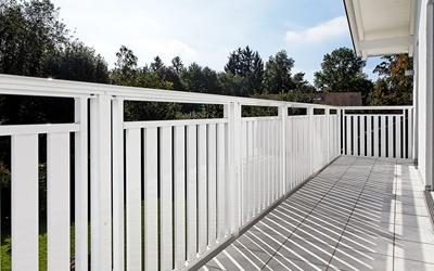 wetterfeste balkongel nder aus edelstahl zaunzar. Black Bedroom Furniture Sets. Home Design Ideas