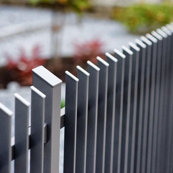 witterungsbeständige zäune aus aluminium — zaunzar, Garten und erstellen